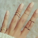 cheap Rings-Women's Knuckle Ring - Alloy Leaf, Princess Classic, Fashion One Size Gold / Silver For Party Party / Evening Daily