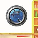 abordables Adhesivos de Pared-Animales 3D Caricatura Pegatinas de pared Calcomanías 3D para Pared Calcomanías Decorativas de Pared, Vinilo Decoración hogareña Vinilos