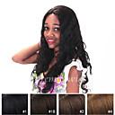 billige Laptop Bags-Ekte hår Helblonde / Blonde Forside Parykk Naturlige bølger Parykk 130% Naturlig hårlinje / Afroamerikansk parykk / 100 % håndknyttet Dame Medium / Lang Blondeparykker med menneskehår