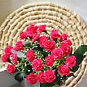 baratos Flor artificiali-Flores artificiais 1 Ramo Estilo simples Lilás Flor de Mesa