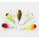 baratos Iscas de Pesca-1 pcs Isco Duro / Moscas / Manivela Isco Duro / Moscas / Manivela Plástico Duro Pesca de Mar / Pesca Voadora / Isco de Arremesso / Rotação / Pesca de Água Doce / Pesca Baixa / Pesca de Isco