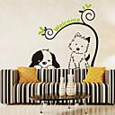 olcso Falmatricák-Dekoratív falmatricák - Repülőgép matricák Állatok / Romantika / Divat Nappali szoba / Hálószoba / Fürdőszoba / Mosható / Eltávolítható
