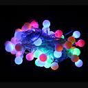 preiswerte LED Lichterketten-50 LEDs RGB Wiederaufladbar / Dekorativ 220-240V