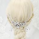 hesapli Parti Başlıkları-İmitasyon İnci Yapay Elmas alaşım - Saç Combs 1 Düğün Özel Anlar Başlık