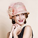 cheap Totes-Women's Vintage Party Linen Sun Hat - Solid Colored