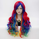 cheap Party Supplies-Synthetic Wig / Cosplay & Costume Wigs Wavy Synthetic Hair Wig Women's Very Long Capless