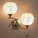 tanie Imprezowe nakrycia głowy-Nowoczesny / współczesny Lampy ścienne Metal Światło ścienne 110-120V / 220-240V / E26 / E27