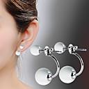 preiswerte Modische Ohrringe-Damen Opal Tropfen-Ohrringe - Sterling Silber, versilbert, Opal Modisch Farbbildschirm Für Alltag
