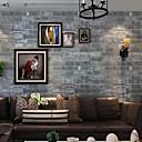 baratos Murais de Parede-Geométrica Decoração para casa Moderna Revestimento de paredes, PVC/Vinil Material papel de parede, Cobertura para Paredes de Quartos