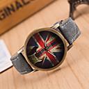 preiswerte Modische Uhren-Damen Armbanduhr Quartz PU Band Analog Charme Modisch Grün Blau Rosa / Edelstahl