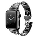 cheap Starter Tattoo Kits-Watch Band for Apple Watch Series 4/3/2/1 Apple Butterfly Buckle Stainless Steel Wrist Strap