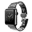 preiswerte Smart Uhr Accessoires-Uhrenarmband für Apple Watch Series 3 / 2 / 1 Apple Schmetterling Schnalle Edelstahl Handschlaufe