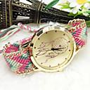 hesapli Moda Saatler-Kadın's Quartz Bilek Saati Kumaş Bant İhtişam / Moda