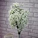 tanie Naklejki ścienne-Sztuczne Kwiaty 1 Gałąź Kwiaty ślubne Łyszczec Bukiety na stół