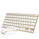 cheap Mouse keyboard combo-Wireless Mouse keyboard combo Mini AA Battery Office keyboard