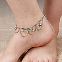cheap Anklet-Layered / Tassel Anklet - Tassel, Vintage, Party Screen Color For Daily / Women's