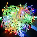 cheap LED Flood Lights-YouOKLight 18m Flexible LED Light Strips 180 LEDs Dip Led RGB Waterproof / Color-Changing 220 V / IP44