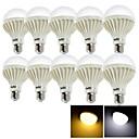 preiswerte LED Glühbirnen-YouOKLight 10 Stück 12 W 1050 lm E26 / E27 LED Kugelbirnen 24 LED-Perlen SMD 5630 Dekorativ Warmes Weiß / Kühles Weiß 220-240 V / RoHs