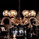 abordables Candelabros-8-luz Lámparas Araña Luz Downlight Acabados Pintados Metal Vidrio Mini Estilo 220-240V Blanco Cálido Bombilla no incluida / E26 / E27