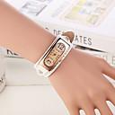 preiswerte Kleideruhr-Damen Armbanduhr Armbanduhren für den Alltag Leder Band Charme / Modisch Weiß