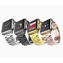 tanie Chusty ślubne-Watch Band na Apple Watch Series 4/3/2/1 Jabłko Zapięcie motylkowe Stal nierdzewna Opaska na nadgarstek