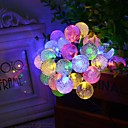 cheap Colorful LED Lights-1 pc Night Light / Decoration Light / Christmas Light Sensor / Rechargeable / Dimmable LED / Waterproof