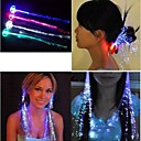 cheap Party Supplies-Men's / Women's / Couple's Illuminated / Luminous Acrylic Hair Clip Flower / Headbands / Tiaras / Headbands / Tiaras