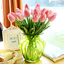 cheap Artificial Flower-Artificial Flowers 1 Branch European Style Tulips Tabletop Flower