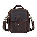 cheap Motorcycle & ATV Parts-Men's Bags Cowhide Crossbody Bag for Shopping / Sports / Outdoor Brown