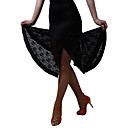cheap Latin Dance Wear-Latin Dance Bottoms / Dresses&Skirts / Skirt Women's Training / Performance Milk Fiber Lace Natural Skirt / Jazz / Ballroom / Samba
