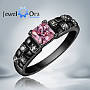 cheap Religious Jewelry-Women's Band Ring - Cubic Zirconia, Gold Plated Fashion One Size Pink / Screen Color For Party