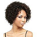 cheap Synthetic Wigs-Synthetic Wig Curly Synthetic Hair African American Wig Brown Wig Women's Short Capless