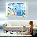 preiswerte Wand-Sticker-Landschaft Stillleben Mode 3D Fantasie Wand-Sticker 3D Wand Sticker Dekorative Wand Sticker, Vinyl Haus Dekoration Wandtattoo Wand