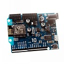 abordables Placas Base-escudo esp8266 basada electrónica inteligente Wemos esp-12e wifi d1 uno de arduino compatible