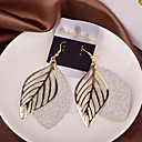 cheap Earrings-Women's Hollow Out Drop Earrings - Leaf Silver / Golden For Wedding / Party / Daily