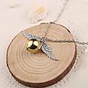 hesapli Moda Kolyeler-Kadın's Uçlu Kolyeler - Gümüş Altın Kolyeler 1pc Uyumluluk