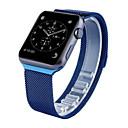 abordables Fundas para Teléfono & Protectores de Pantalla-Ver Banda para Apple Watch Series 4/3/2/1 Apple Correa Milanesa Acero Inoxidable Correa de Muñeca