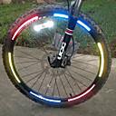 رخيصةأون مصابيح الدراجة العاكسة-حزام عاكس اضواء الدراجة - ركوب الدراجة عاكس, سهل الحمل آخر أخضر