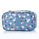 cheap Daytime Running Lights-Travel Toiletry Bag Travel Luggage Organizer / Packing Organizer Portable Travel Storage for Clothes Bras Nylon / Floral