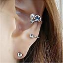 preiswerte Ohrringe-Damen Kristall Ohrstecker Krystall Diamantimitate Ohrringe Schmuck Silber / Golden Für Party Alltag Normal