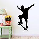 preiswerte Wand-Sticker-Dekorative Wand Sticker - Menschen Wandaufkleber Menschen / Mode / Sport Wohnzimmer / Schlafzimmer / Badezimmer