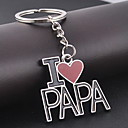 cheap Keychains-Keychain Black Alloy Party, Work, Casual For Birthday / Gift
