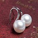 cheap Cake Molds-Women's Pearl Stud Earrings - Silver / Golden For Wedding / Party / Daily