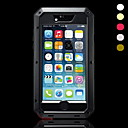 baratos Kits Bluetooth Automotivos/Mãos Livres-Capinha Para iPhone 7 / iPhone 7 Plus / iPhone 6s Plus iPhone 7 / iPhone 7 Plus / iPhone 6 Plus Antichoque / Anti-poeira / Impermeável Capa Proteção Completa Armadura Macia Metal para iPhone 7 Plus