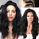 cheap Clip in Hair Extensions-unprocessed 12 26 peruvian human hair natural loose wave full lace wig human hair lace front wigs