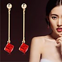 cheap Earrings-Women's Crystal Drop Earrings - Crystal Bridal For Wedding / Party / Daily