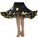 cheap Ballroom Dancewear-Ballroom Dance Tutus & Skirts Women's Performance Crepe / Sequined Draping Skirt / Modern Dance