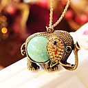 cheap Necklaces-Women's Pendant Necklace - Rhinestone Blue Necklace For Wedding, Party, Daily / Casual