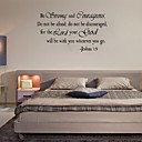 cheap Wallpaper-Words & Quotes Wall Stickers Plane Wall Stickers Decorative Wall Stickers, PVC Home Decoration Wall Decal Wall