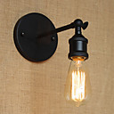 abordables Apliques de Pared-Rústico / Campestre Lámparas de pared Metal Luz de pared 220v / 110V 40W / E26 / E27